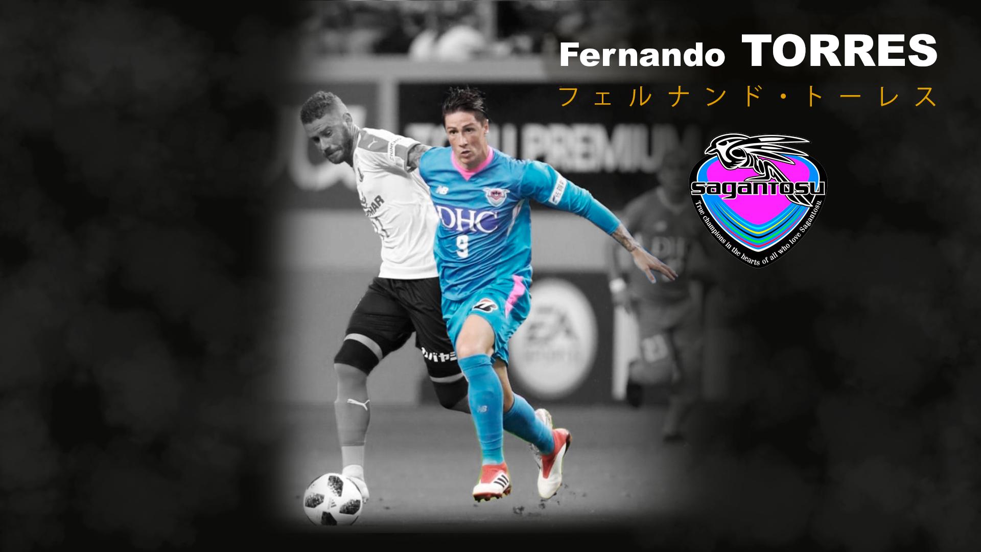 fernando torres futbol japones sagan tosu フェルナンドタワーズ